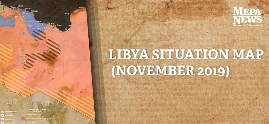 Libya situation map (November 2019)