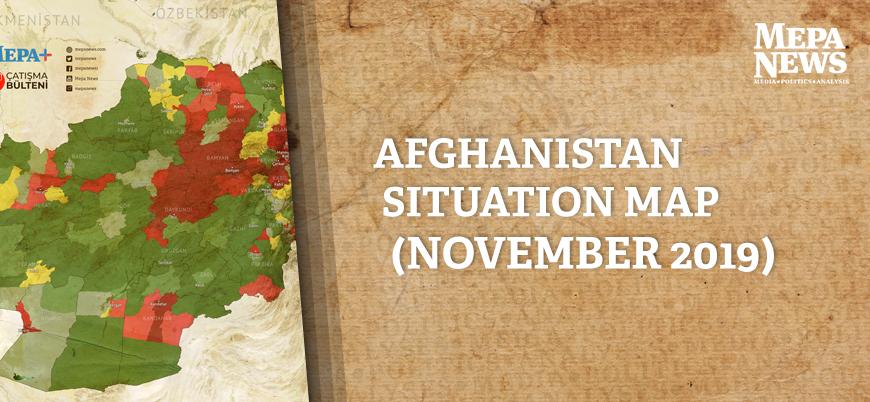 Afghanistan situation map (November 2019)