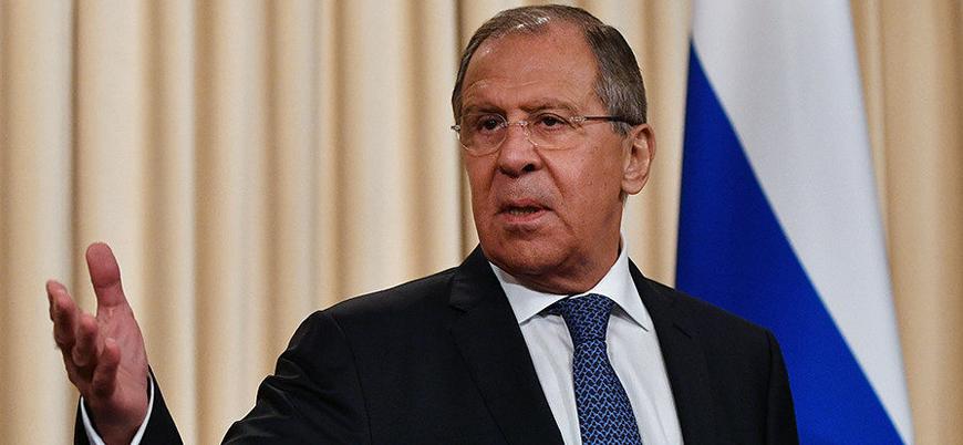 Lavrov: ABD Suriye'de petrolü kontrol etmek için sözde devlet kurmak istiyor