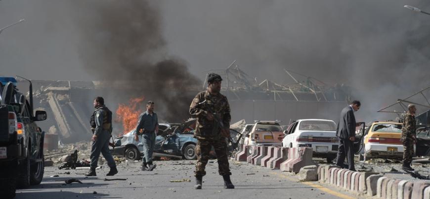 Afganistan'da İçişleri Bakanlığı'na bombalı araç saldırısı