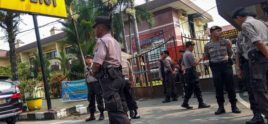Endonezya'da polis merkezine canlı bomba saldırısı