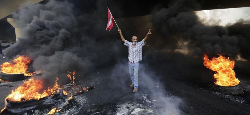 Lübnan'daki gösterilerde bir kişi ordu tarafından öldürüldü