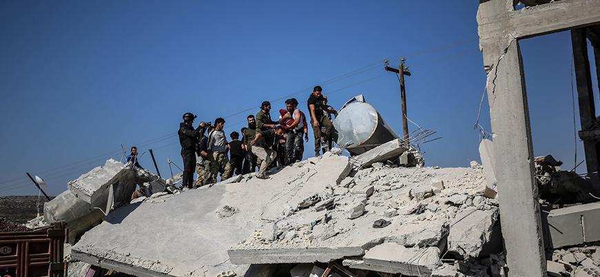 Rusya İdlib'de sivilleri bombalamaya devam ediyor