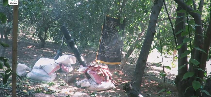 Filistin İslami Cihad hareketi İsrail'e yönelik saldırılarının görüntülerini yayınladı