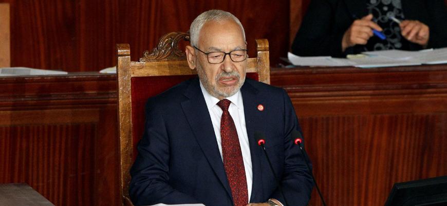 Nahda Hareketi lideri Gannuşi Tunus'un meclis başkanı oldu