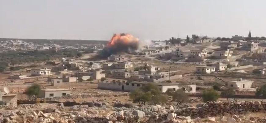 Rusya İdlib'de sivilleri vurmaya devam ediyor: 7 kişi hayatını kaybetti