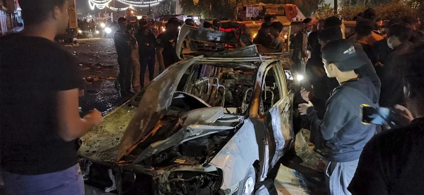 Irak'ın başkenti Bağdat'ta göstericilere bombalı saldırı