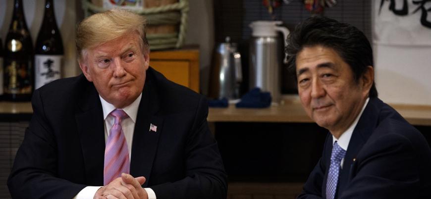 """""""Trump ABD askerleri için Japonya'dan 8 milyar dolar istedi"""""""