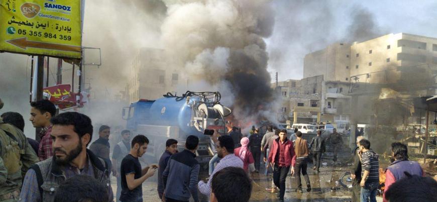 El Bab'da sivillere yönelik bombalı araç saldırısı: 20 ölü 40 yaralı
