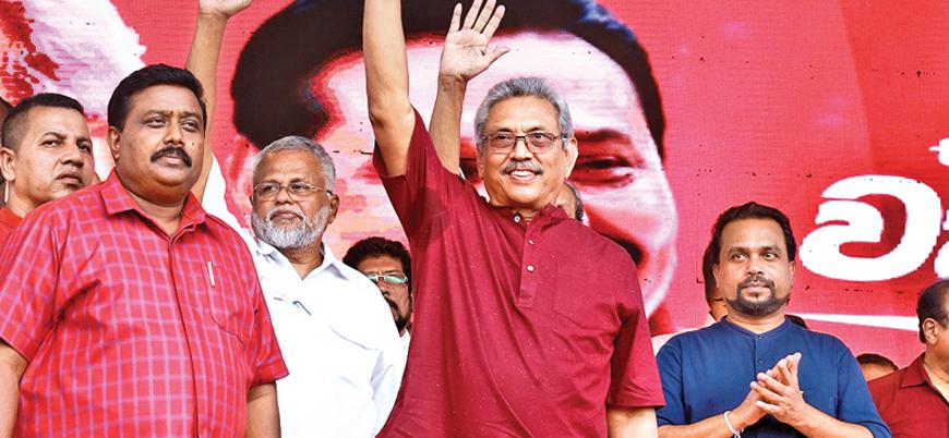 Sri Lanka'da cumhurbaşkanlığı seçiminin galibi eski Savunma Bakanı Rajapaksa