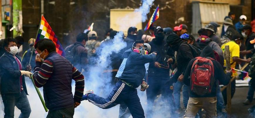 Devlet Başkanı Morales'in görevden el çektiriliği Bolivya'da çatışmalar sürüyor: 18 ölü