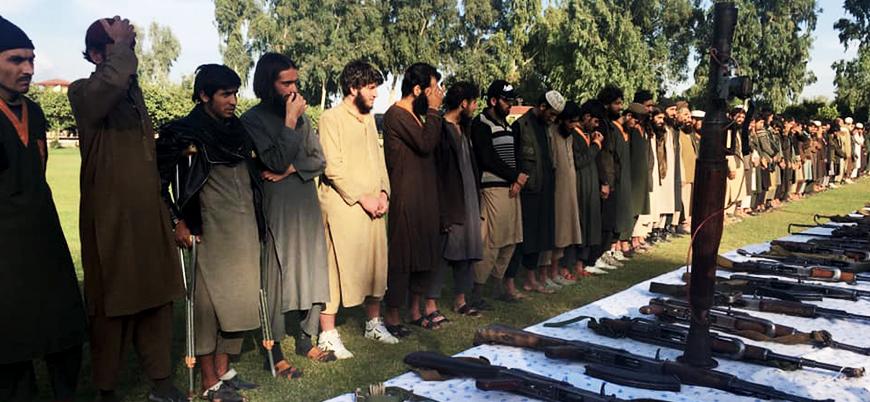 Afganistan'da Taliban'ın saldırı başlattığı IŞİD'liler Kabil hükümetine teslim oldu