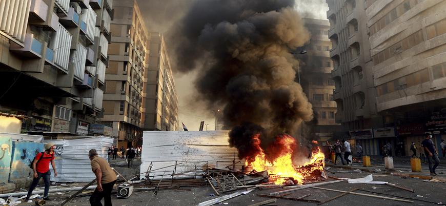Irak'ta hayat durdu, devlet daireleri kepenk indirdi