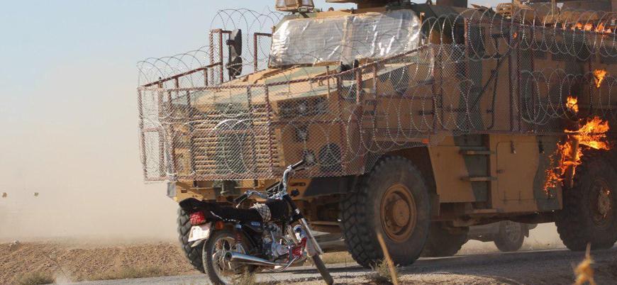 PKK sempatizanlarından Rusya ile ortak devriyede Türk zırhlılarına molotoflu saldırı