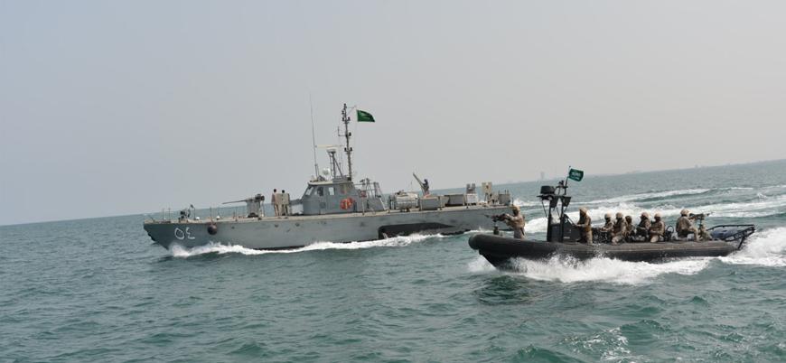 Suudi Arabistan ve Çin'den Kızıldeniz'de ortak askeri tatbikat