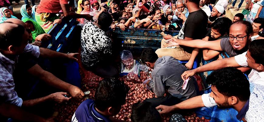 Soğan krizinin yaşandığı Bangladeş'in Başbakanı Hasina: Soğan yemeyi bıraktım