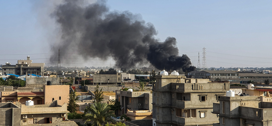 Hafter güçleri Trablus'ta fabrika vurdu: 7 sivil öldü