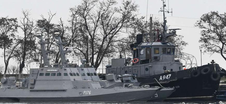 Rusya Ukrayna'ya ait üç savaş gemisini iade etti