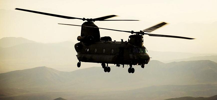 Taliban Afganistan'da ABD'ye ait Chinook helikopteri düşürdüğünü açıkladı