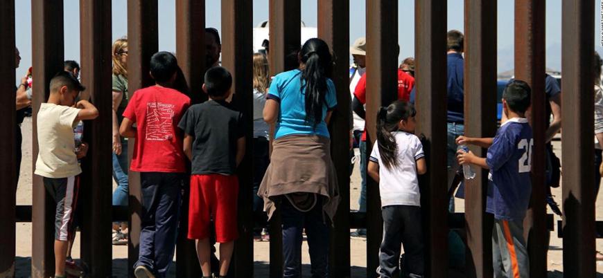 ABD 103 bin göçmen çocuğu gözaltında tutuyor