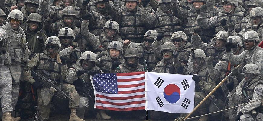 """""""ABD Güney Kore'den asker çekmeyi planlıyor"""""""