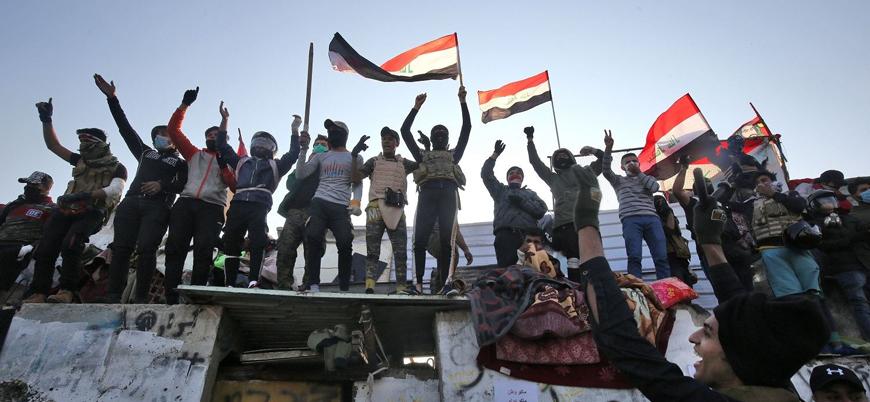 Irak'taki protestolarda 2 kişi öldü 38 kişi yaralandı