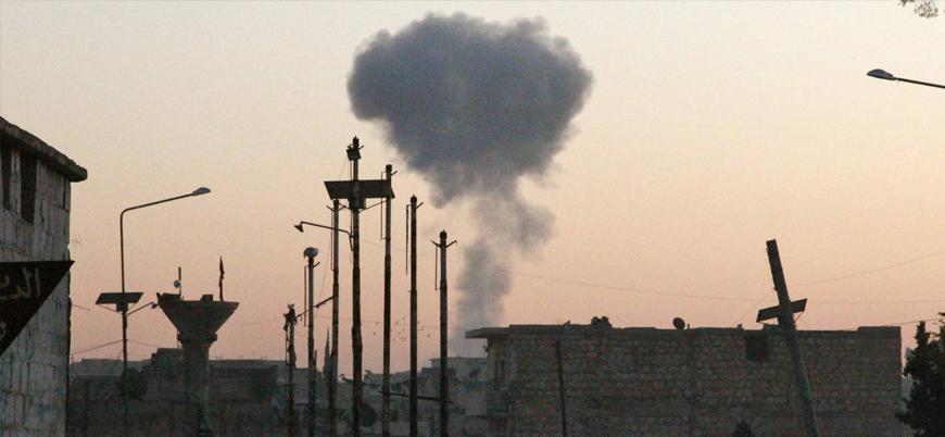 Rusya İdlib'de sivillere yönelik saldırılarını sürdürüyor