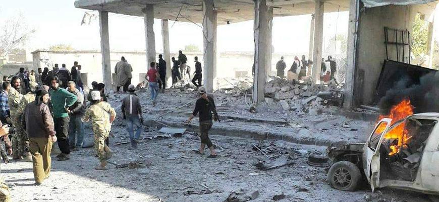Tel Abyad'da bombalı araç saldırısı