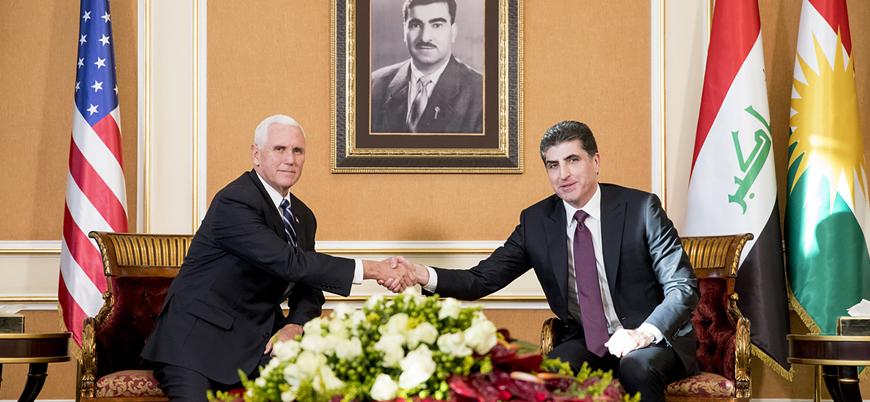 ABD Başkan Yardımcısı Pence Irak'ta IKBY Başkanı Barzani ile görüştü