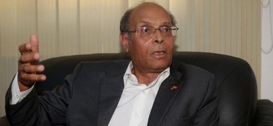 Eski Tunus Cumhurbaşkanı Munsif el Merzuki istifa edip siyasetten çekildi