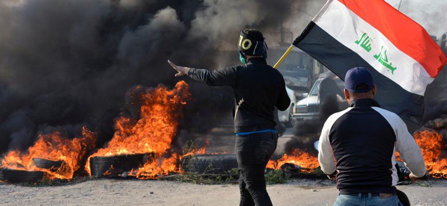 """""""Dikta davranışı"""": Gösterilerin sürdüğü Irak'ta 8 kanal ve 5 radyo kapatıldı"""