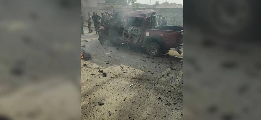 TSK ve muhaliflerin kontrolündeki Azez'de bombalı saldırı: 4 ölü