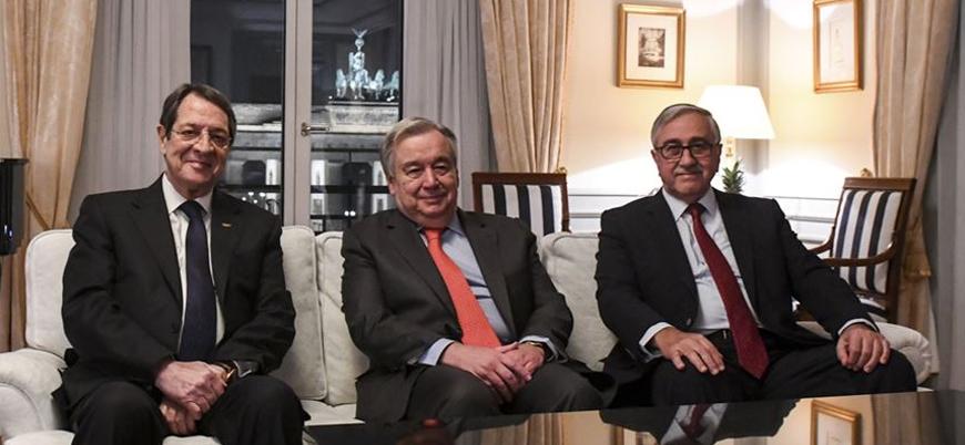 BM Genel Sekreteri Guterres Kıbrıs'ta taraflarla görüştü: Samimi bir ortamdı