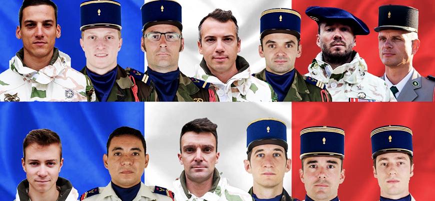 Mali'deki 'helikopter kazası'nda 13 Fransız askeri öldü