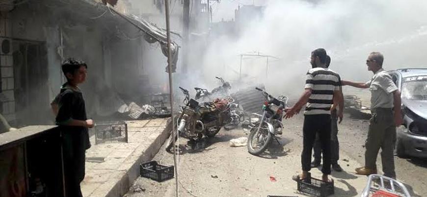 YPG/PKK'dan Rasulayn'da sivillere yönelik bombalı araç saldırısı