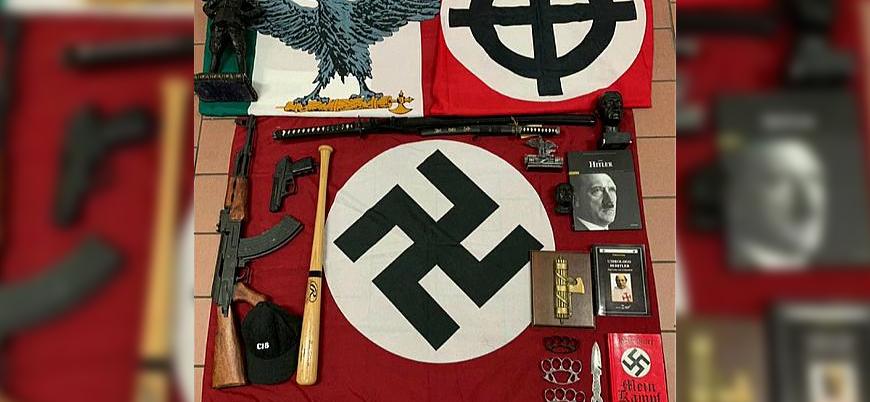 İtalya'da 16 şehirde Nazi örgütlenmelerine operasyon