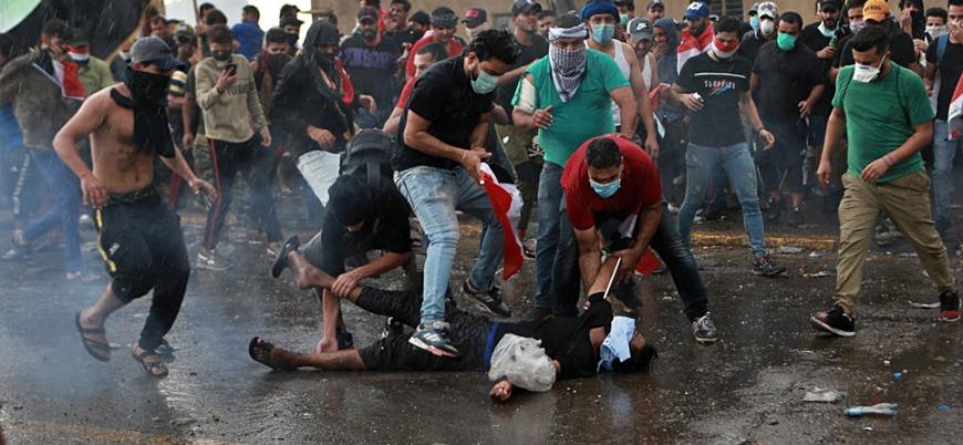 Irak'ta güvenlik güçleri 45 göstericiyi öldürdü