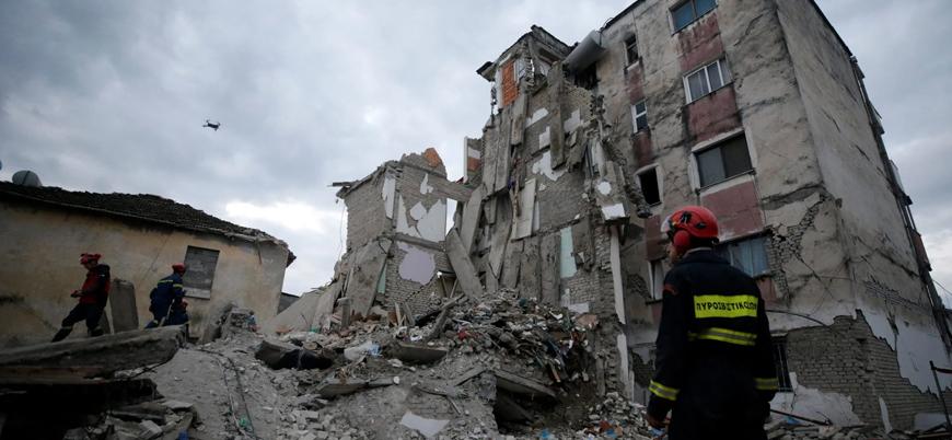 Arnavutluk'taki depremde 50 kişi öldü