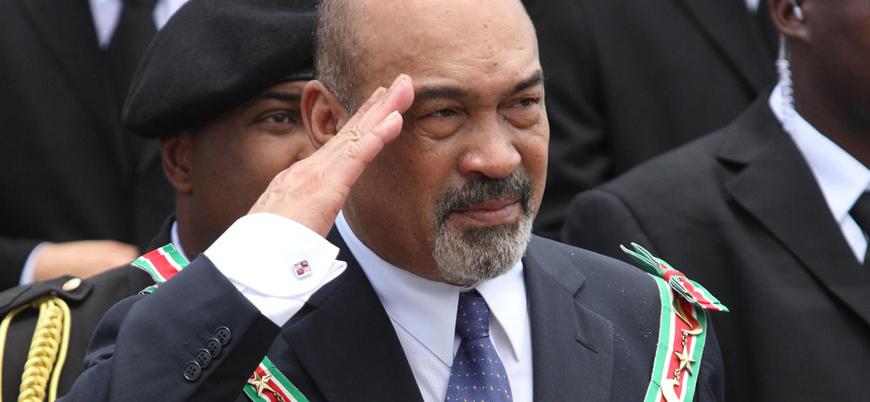Surinam Devlet Başkanı'na 20 yıl hapis