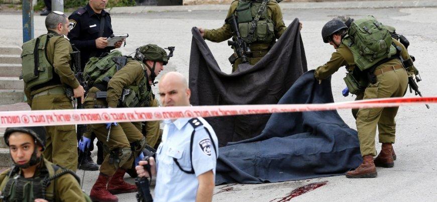 İsrail El Halil'de bir Filistinliyi öldürdü