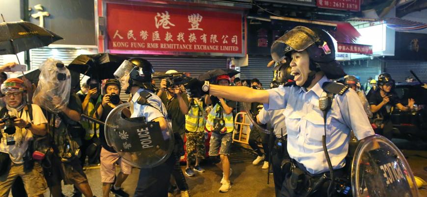Çin'den 'Hong Kong'daki polis şiddeti incelenmeli' diyen BM'ye tepki
