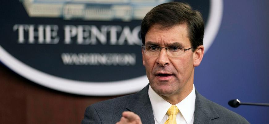 ABD Savunma Bakanı Esper: YPG'yi terör örgütü olarak nitelemeyi desteklemeyeceğiz