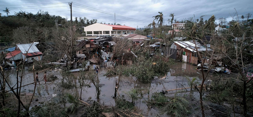 Kammuri Tayfunu Filipinler'i vurdu