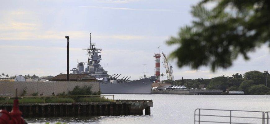ABD'nin Pearl Harbor üssünde silahlı saldırı