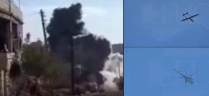 İran gösteriyor Esed vuruyor: İdlib'de sivillere yönelik bombardıman böyle görüntülendi