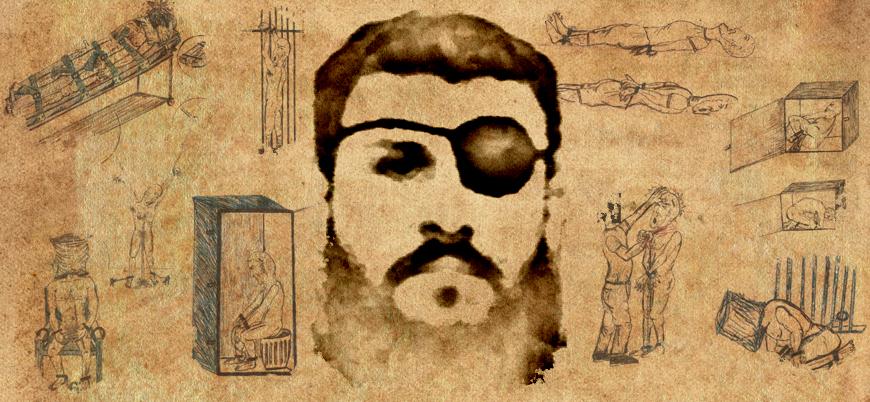 Bir Guantanamo mahkumunun gözünden: Ebu Zübeyde kendisine yapılan işkenceleri çizdi
