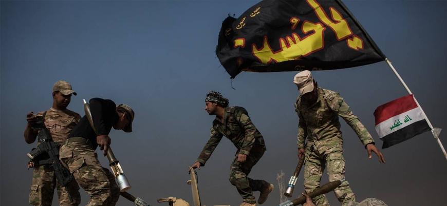Irak'ta Şii göstericilere karşı İran destekli Haşdi Şabi sokağa çıktı