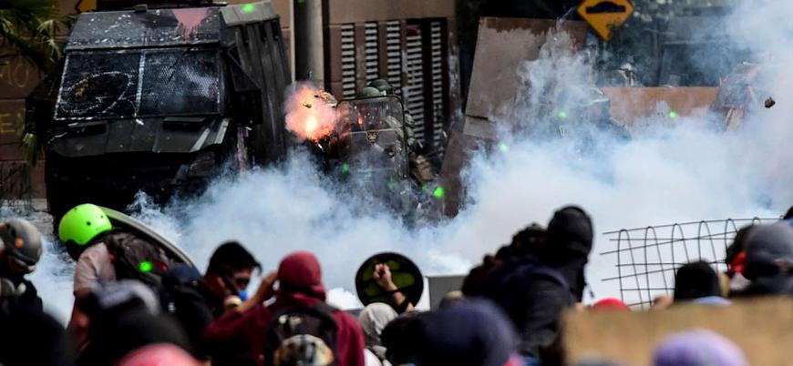 Şili'de gösteriler 50'nci gününde: 23 kişi öldü