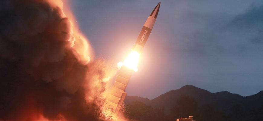 Kuzey Kore füze tatbikatı yaptı