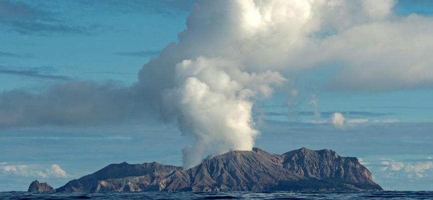 Yeni Zelanda'da yanardağ patlaması: 5 ölü en az 20 yaralı